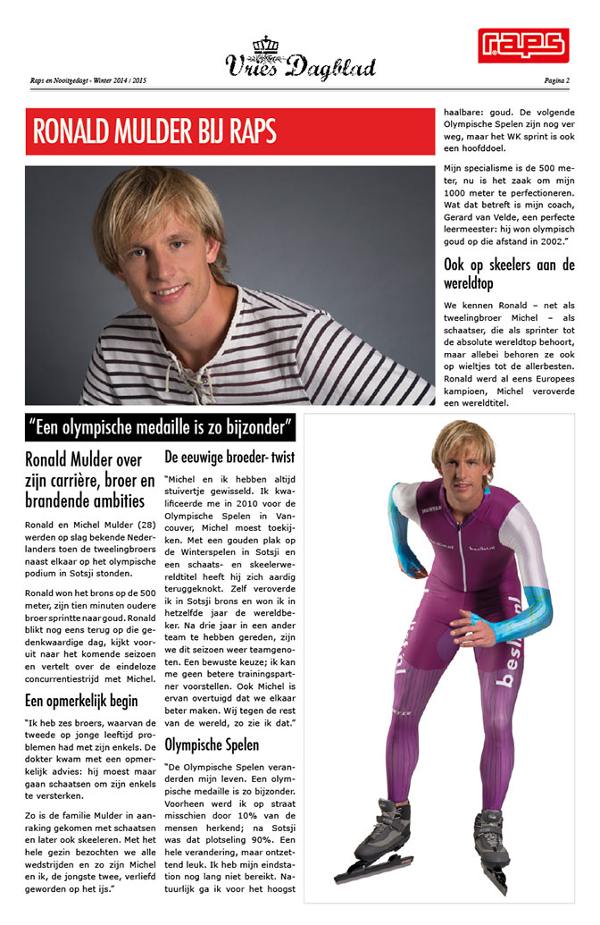 Vries Dagblad Raps